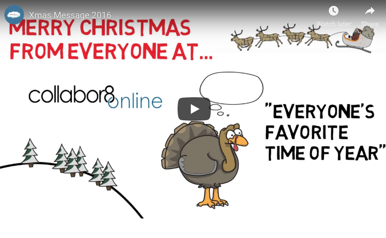 Merry Christmas From Everyone at Collabor8online