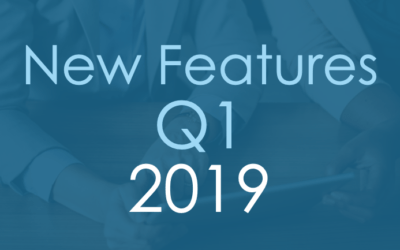 New Features Q1 2019