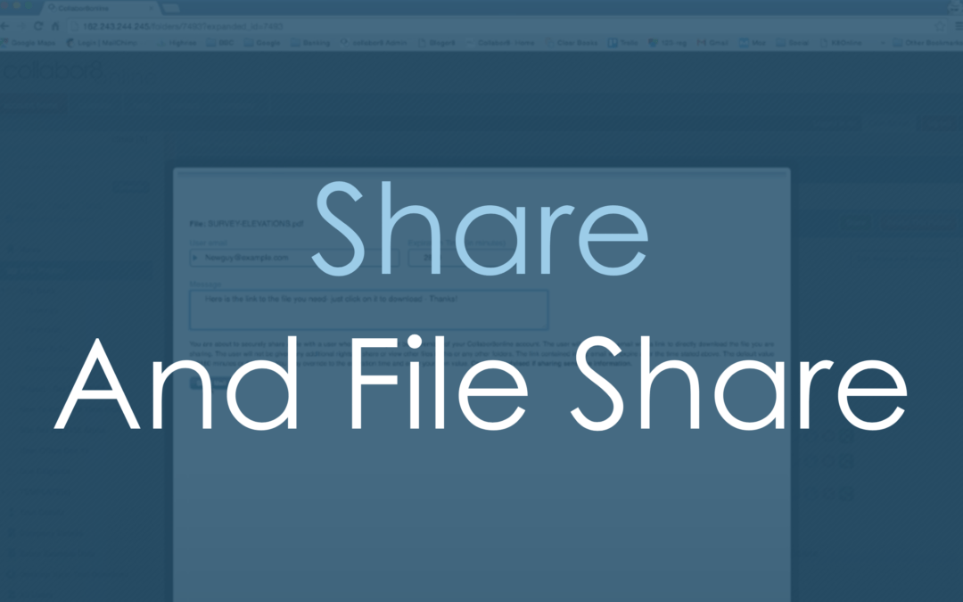 Share and File Share