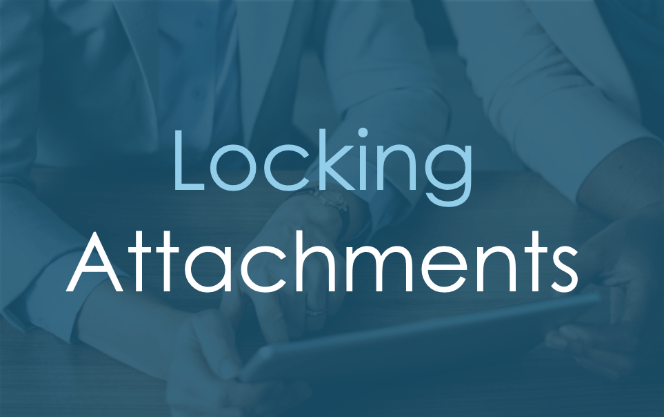 Locking Attachments
