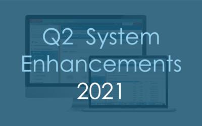 Q2 System Enhancements